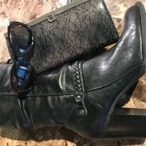 Shoes - Vegan leather dress boots